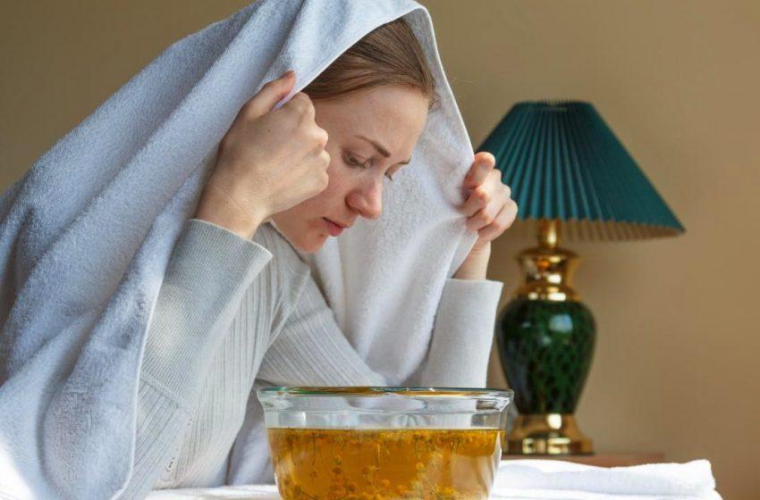 ۶ فایده شگفت انگیز بخار درمانی