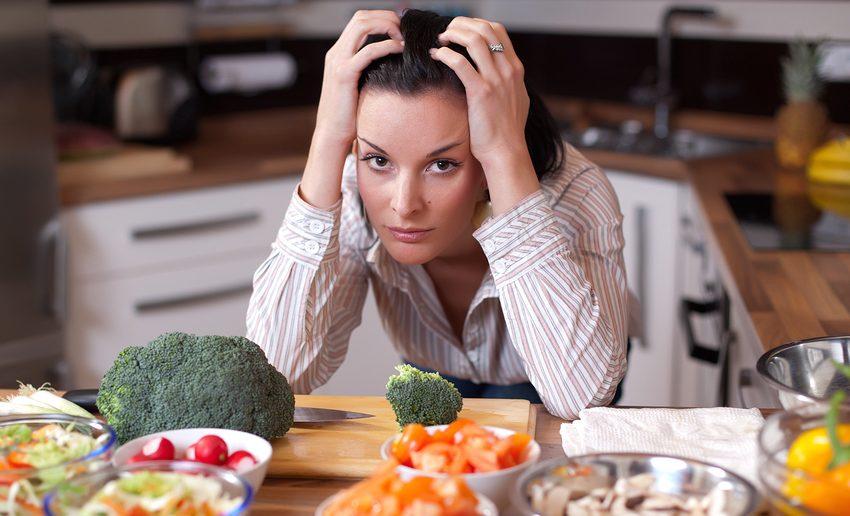 رژیم غذایی در زمان استرس