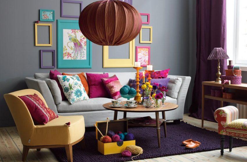نقش رنگها در زیبایی دکوراسیون منزل