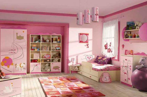 چیدمان اتاق کودک در آپارتمان