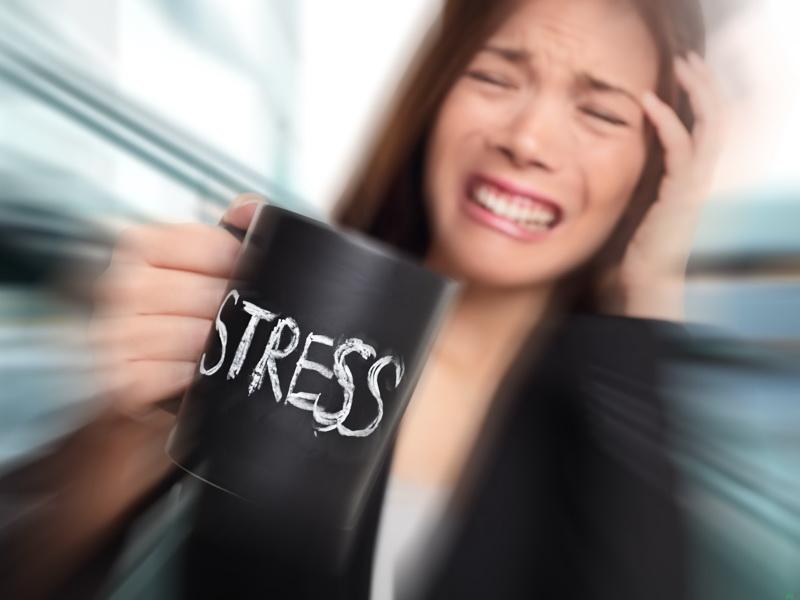 در زمان استرس چه کارهایی از ما سر می زند؟
