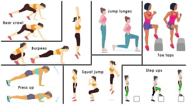 تناسب اندام با ورزش روزانه