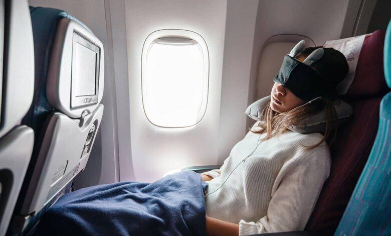 پتوی شخصی در مسافرت هوایی